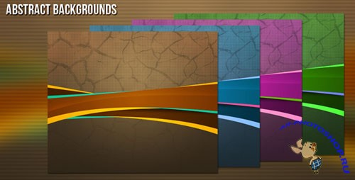 Abstract Backgrounds PSD Template