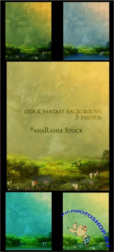 Fantasy Stock Backgrounds #1