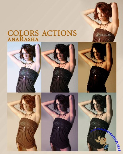 Colourful Photoshop Actions #3