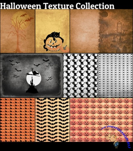 Halloween Textures Collection