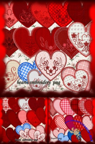 Valentine's Day Hearts PNG Clipart #1
