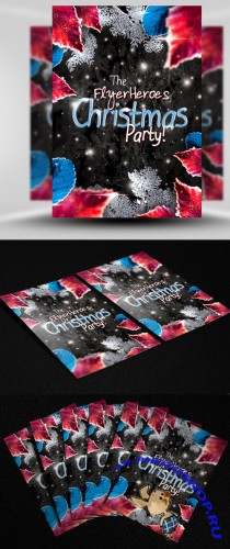 Winter Party Flyer/Poster PSD Template