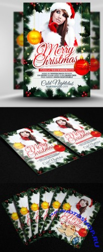 Xmas Party Flyer/Poster PSD Template