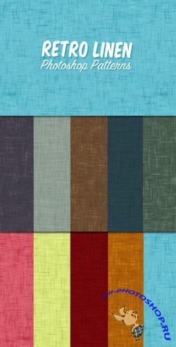 WeGraphics - Retro Linen Patterns