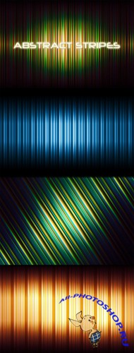 WeGraphics - Abstract Striped Backgrounds