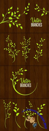 WeGraphics - Detailed Vector Branches