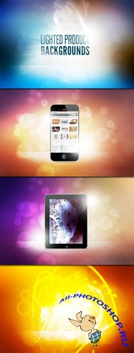 WeGraphics - Lighted Product Backgrounds