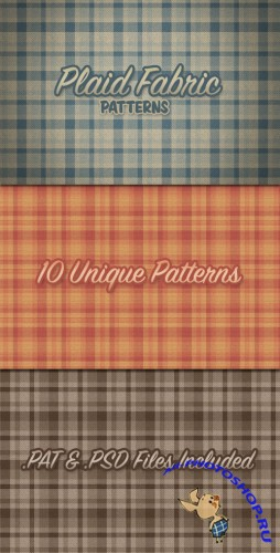 WeGraphics - Realistic Plaid Fabric Patterns