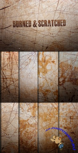 WeGraphics - Burned and Scratched Textures