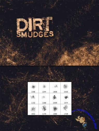 WeGraphics - Extra Dirty Smudge Brushes