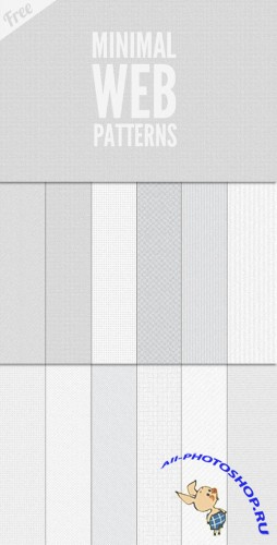 WeGraphics - 12 Minimal Web Patterns