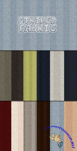 WeGraphics - Seamless Striped Fabric Patterns