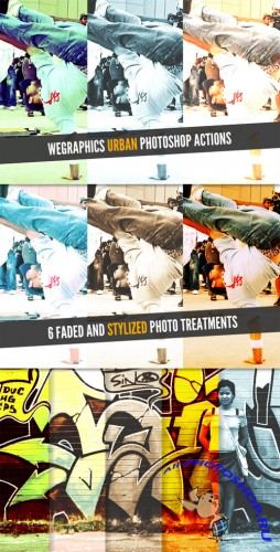 WeGraphics - Urban Photoshop Actions