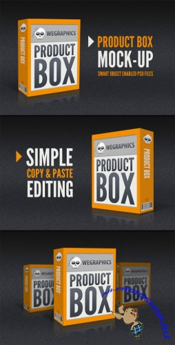WeGraphics - Product Box Mock-Ups