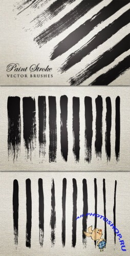 WeGraphics - Vector Paint Stroke Brushes