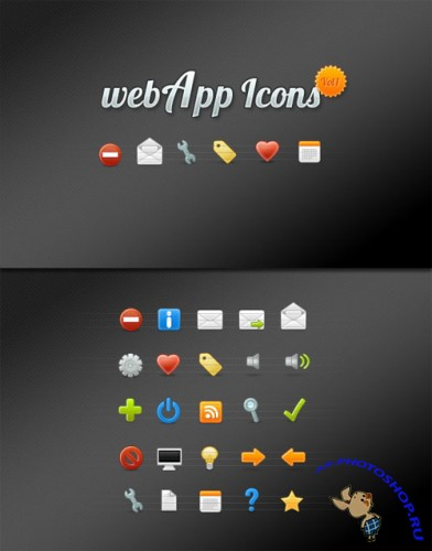 WeGraphics - webApp Icon Set