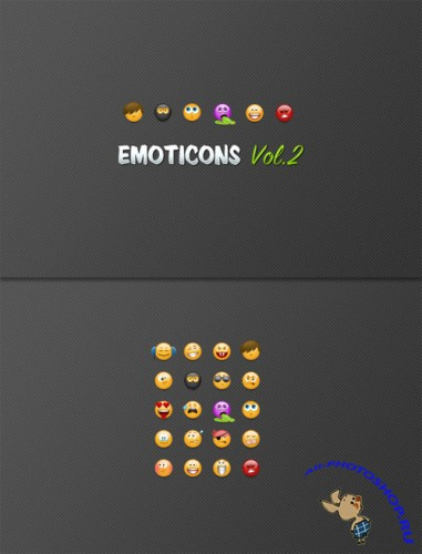 WeGraphics - Emoticons Vol 2