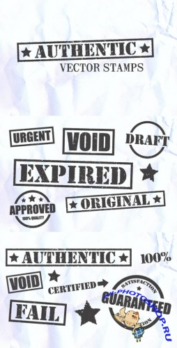 WeGraphics - Authentic Vector Stamps