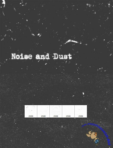 WeGraphics - Noise and Dust Photoshop Brush Set