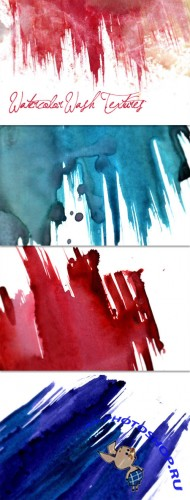WeGraphics - Watercolor Wash Texture Set