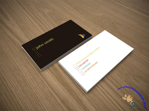 Minimal Business Card PSD Template