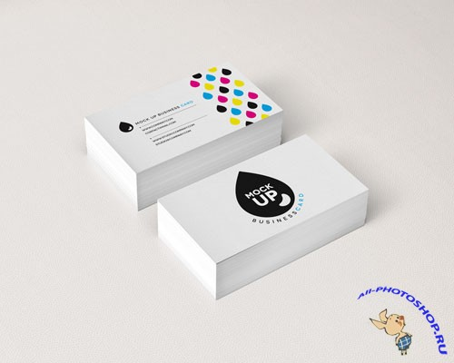 Pixeden - Psd Business Card Mock-Up Vol8