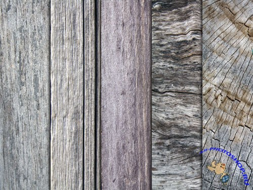 Pixeden - 5 Old Wood Textures Pack 1
