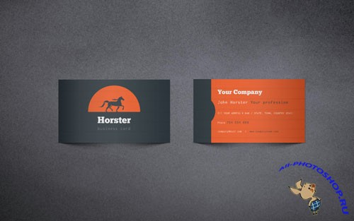 Pixeden - Industrial Business Card Vol 1