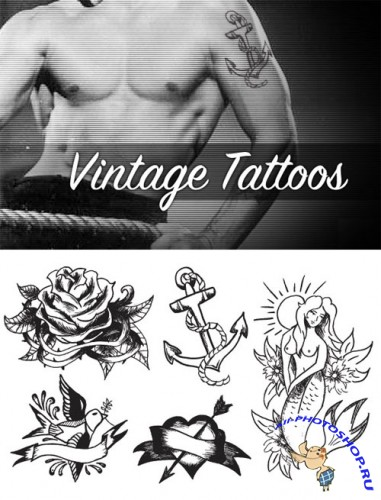 WeGraphics - Vintage Tattoo Vectors