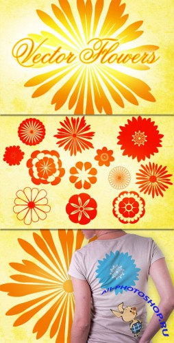 WeGraphics - Vector Flower Pack