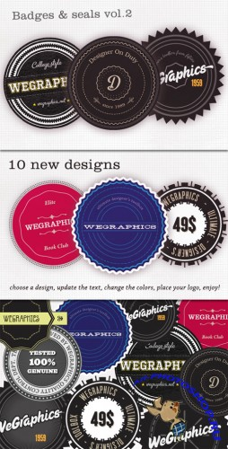WeGraphics - Authentic Vector Badges v2