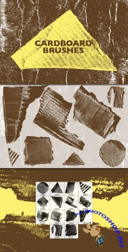 WeGraphics - High-Contrast Cardboard Brushes