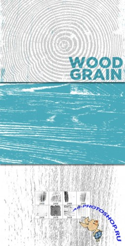 WeGraphics - Wood Grain Brushs