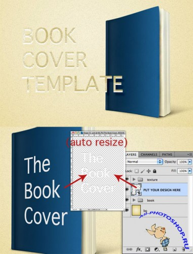 WeGraphics - 3D Book Cover Template