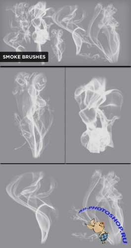 Realistic Smoke PS Brushes