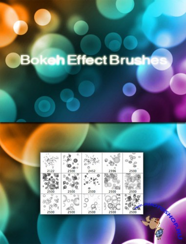 WeGraphics - Bokeh Effect Brushes