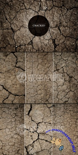 WeGraphics - Cracked Ground Textures