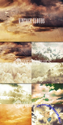 WeGraphics - Vintage clouds