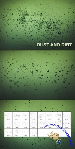 WeGraphics - Dust and Dirt brushes