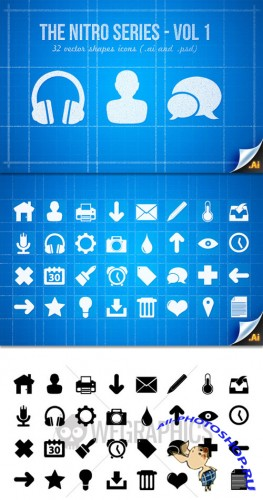 WeGraphics - The Nitro Icons series � Vol1