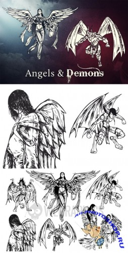 WeGraphics - Angels and Demons
