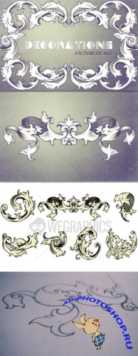 WeGraphics - Victorian age decorations