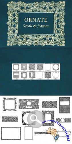 WeGraphics - Ornate Scroll and Frames