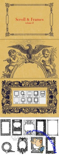 WeGraphics - Ornate Scroll and Frames Vol2