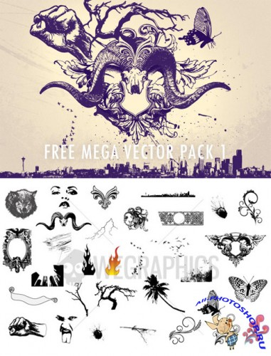 WeGraphics - Mega Vector Pack #1