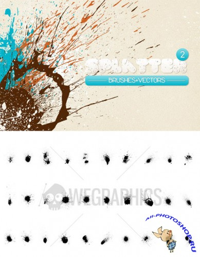 WeGraphics - Splatters Vol2