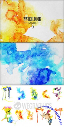 WeGraphics - Watercolor Textures Vol1