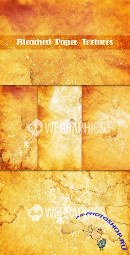WeGraphics - Bleached Paper Textures