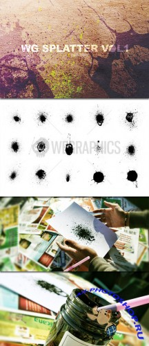 WeGraphics - Splatters vol 1