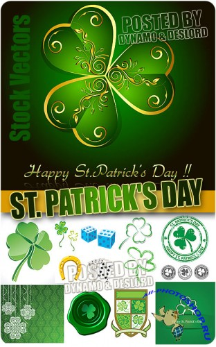 St. Patrick's Day - Stock Vectors